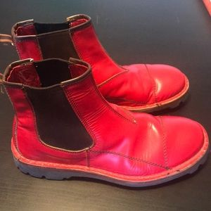 Miu Miu Shoes - Miu Miu red men's boots